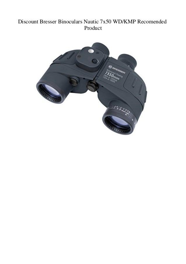 Bresser Binoculares Nautic 7x50 WD//KMP