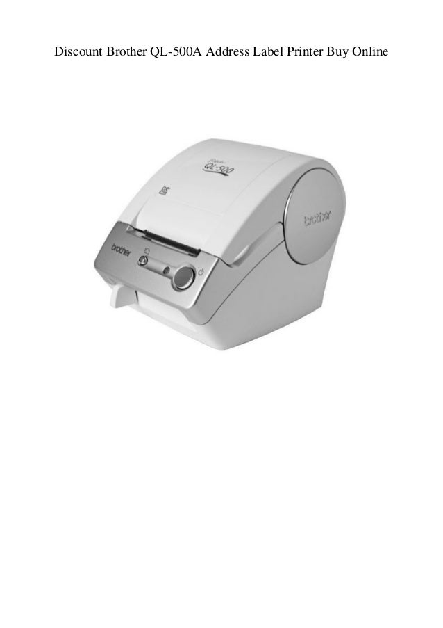 Discount Brother QL-500A Address Label Printer Buy Online