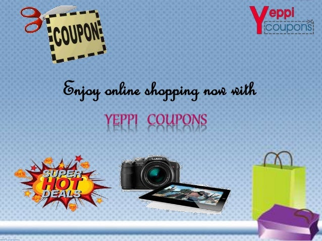 Enjoy online shopping now with