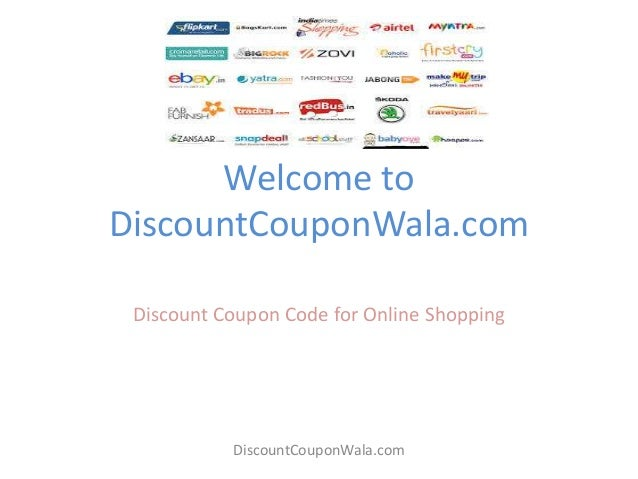 discount coupons india online