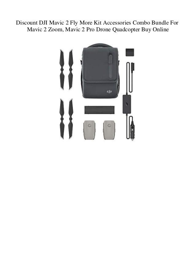 ba75e44d4c2 Discount DJI Mavic 2 Fly More Kit Accessories Combo Bundle For Mavic 2 Zoom Mavic  2 Pro Drone Quadcopter Buy Online