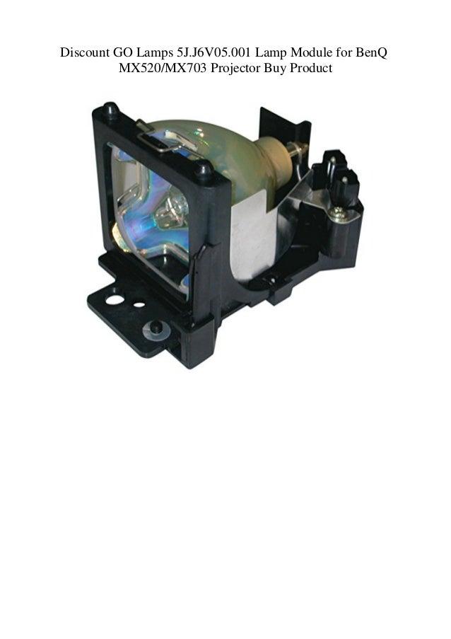 MX703  Projectors Replacement Lamp Bulb 5J.J6V05.001 For BenQ MX520