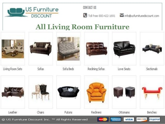 C O M US Furniture Discount Inc 2 All Living Room