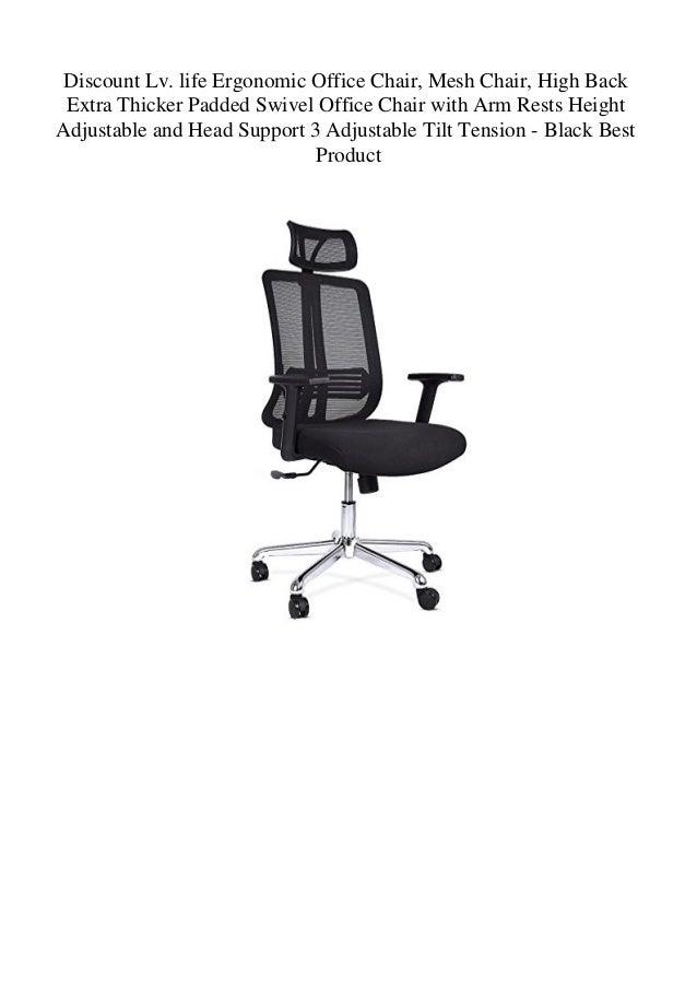 Discount Lv Life Ergonomic Office Chair Mesh Chair High