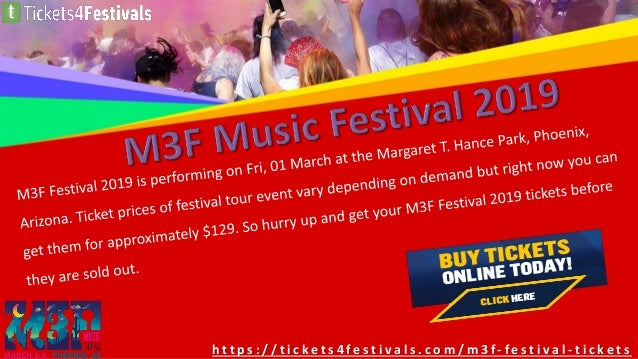 Cheapest M3F Festivals Tickets | McDowell Mountain Music