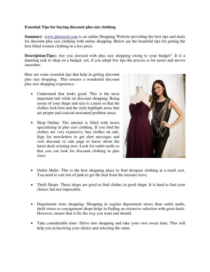 6d82b8e1610 Essential Tips for buying discount plus size clothingSummary-  www.plusizexl.com is an ...