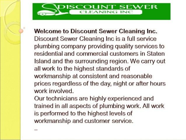 Sewer Company Staten Island