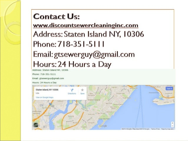 Sewer Cleaning Staten Island Ny