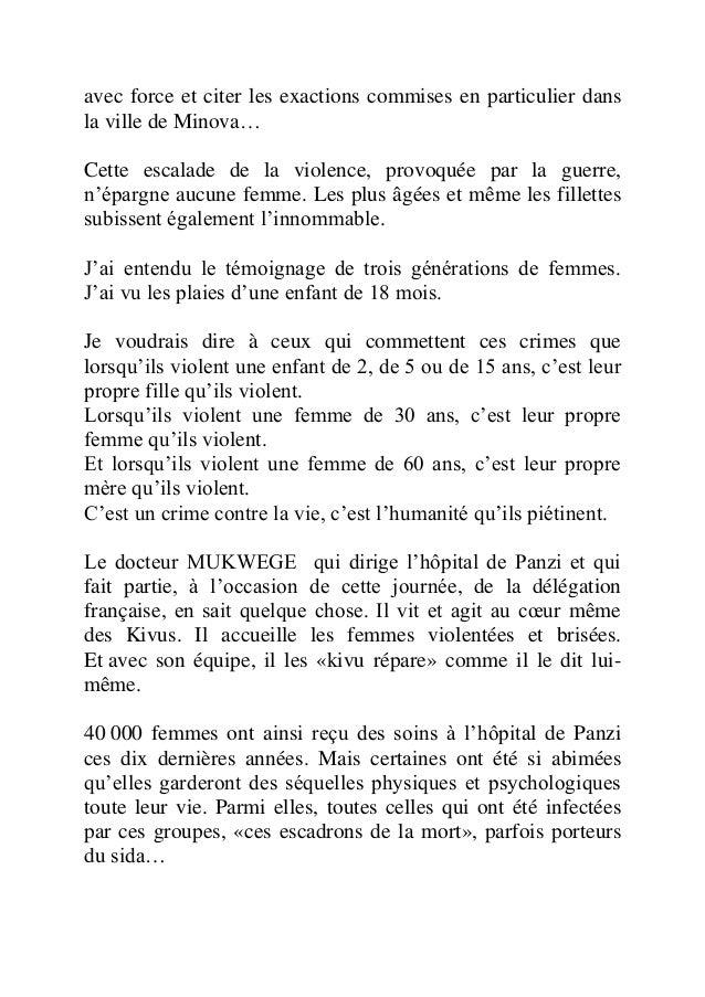 Discours de-madame-trierweiler-l onu-contre-les-violences-sexuelles-dans-les-conflits Slide 2