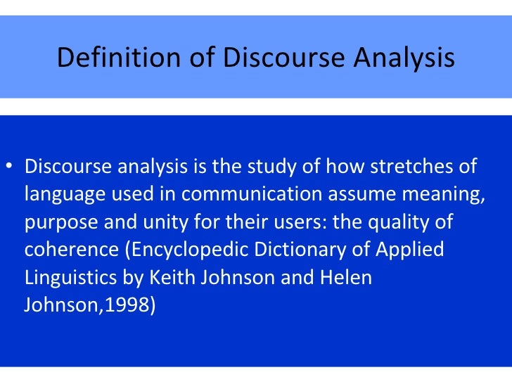 Discourse-based Teaching