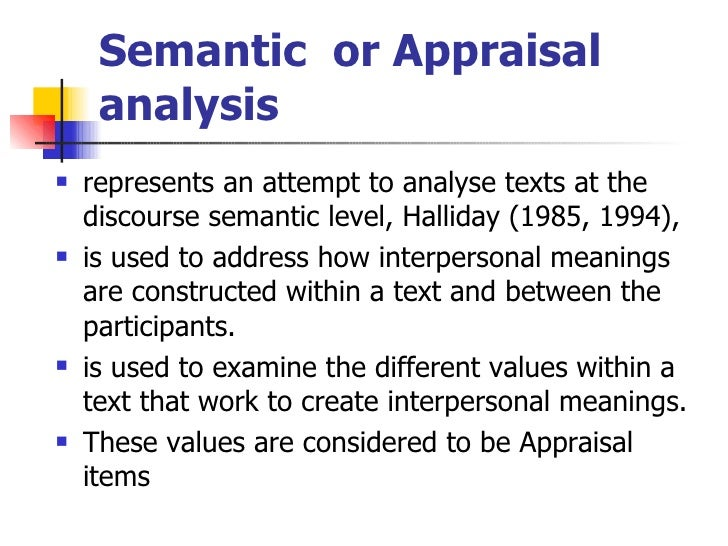 semantics and discourse analysis The approach to exegesis that veritas uses is strongly based on semantic discourse analysis as influenced by the greek scholar johannes p louwhe was also the editor with eugene nida of the greek-english lexicon of semantic domains published by the united bible society and the main translator of the interlinear greek bible translation of the new testament, published by scripturedirect as an app.