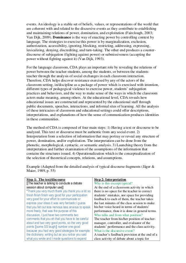 fairclough and wodak 1997 critical discourse analysis pdf