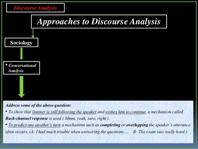 Dicourse Analysis of an Interview Using Dell Hymes Criter