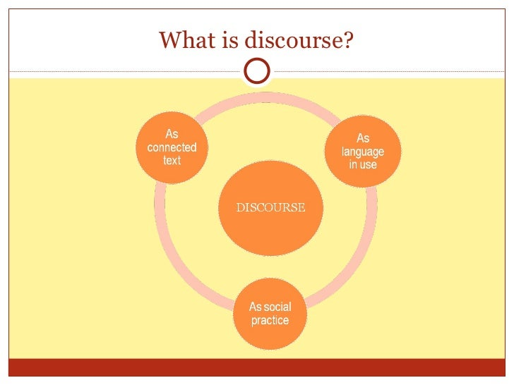 Discourse and corpus Slide 3