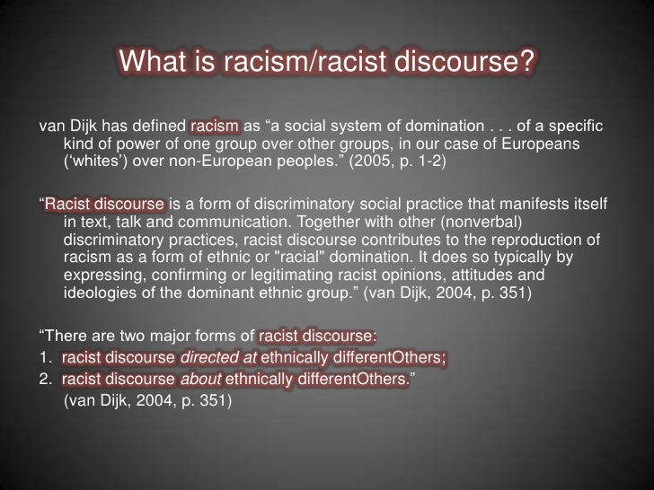 racism in the media in the The key reason why racism remains alive and well in america the united states has been treating evidence of racism, and not the causes, since the civil war.