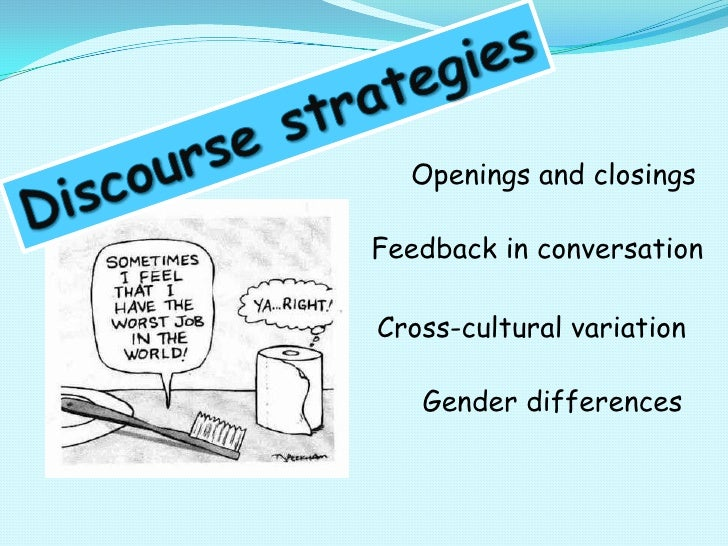 Openings and closingsFeedback in conversationCross-cultural variation   Gender differences