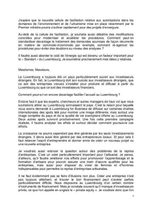 7J'espère que la nouvelle cellule de facilitation relative aux autorisations dans lesdomaines de l'environnement et de l'u...