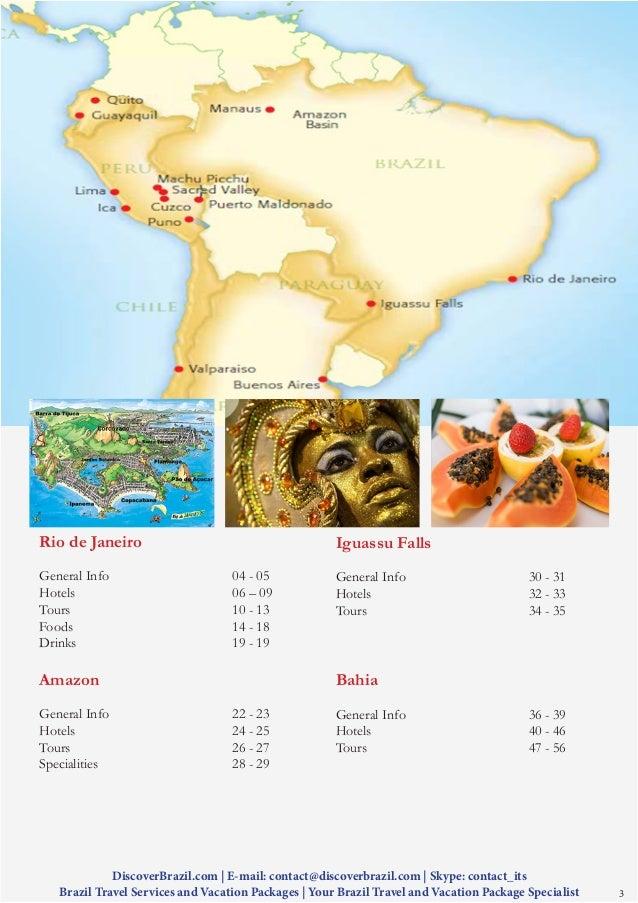 Brazil Travel and Tourism Information Slide 3