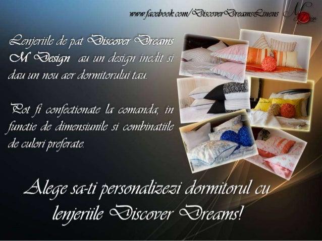 Discover Dreams Lenjerii de Pat Slide 2