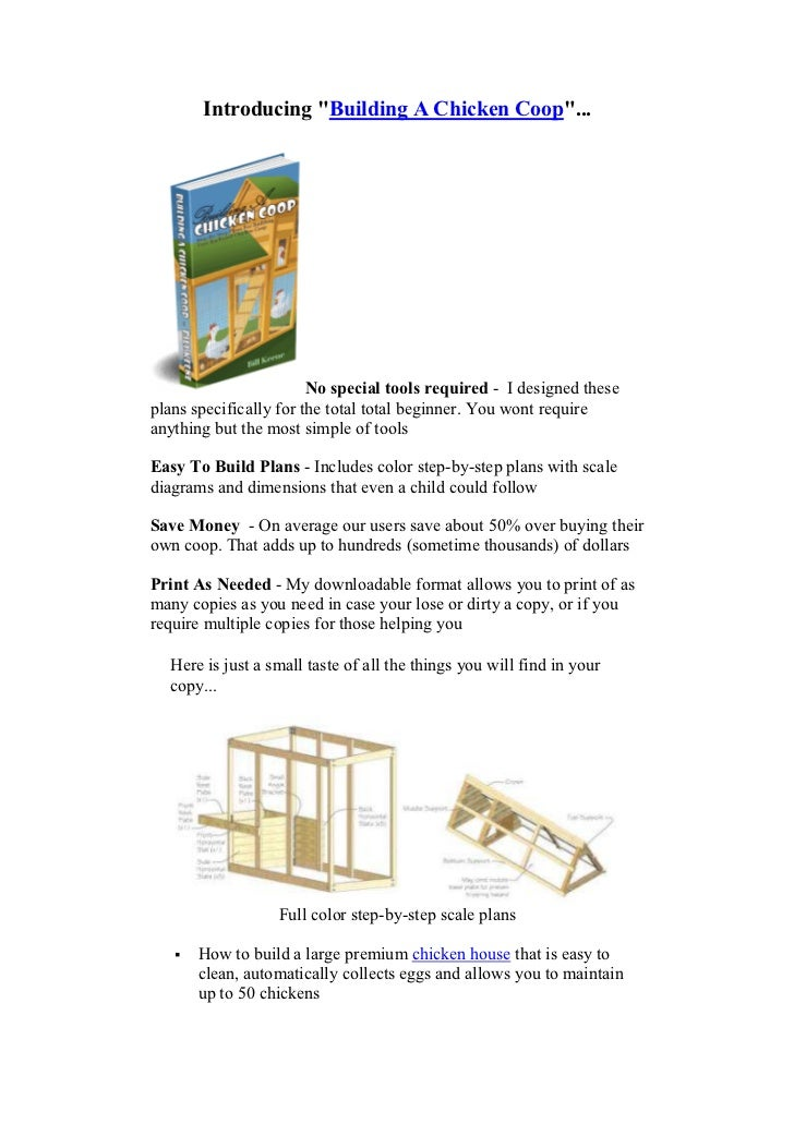 how to build a big chicken coop
