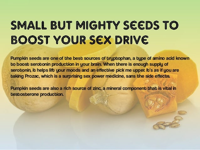 Which type food increase sex power