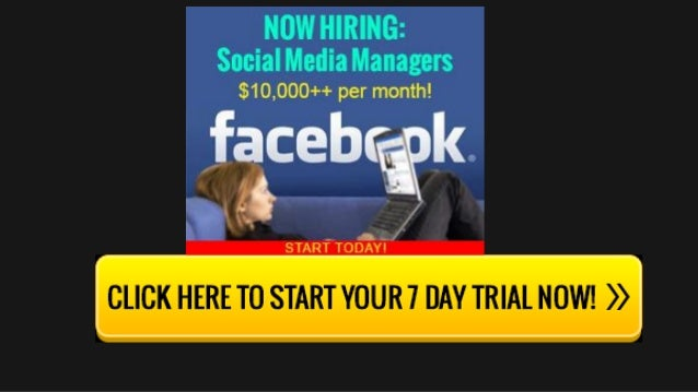 Discover How To Turn Your Facebook Knowledge Into Cash Slide 3