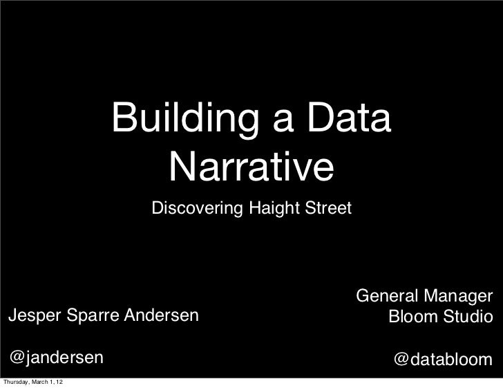 Building a Data                           Narrative                          Discovering Haight Street                    ...
