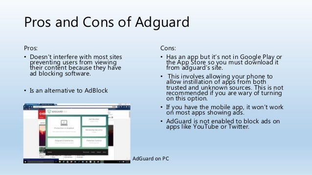 apps like adguard for pc