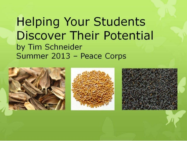 Discovering potential in your students