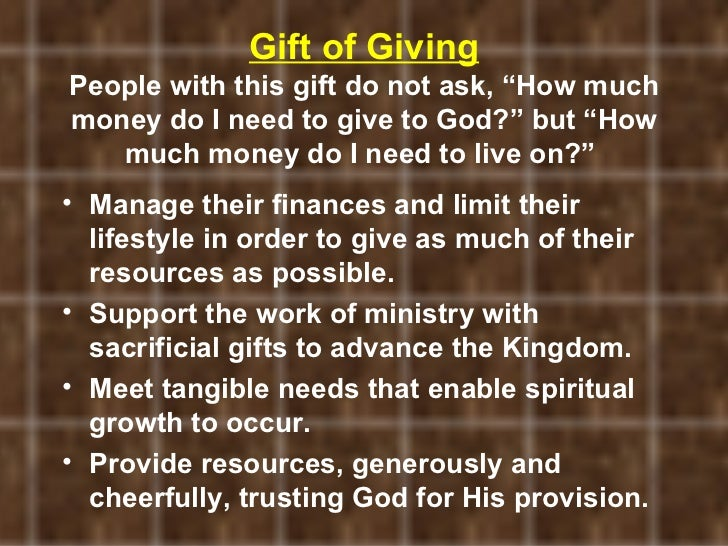 how to use the spiritual gift of exhortation