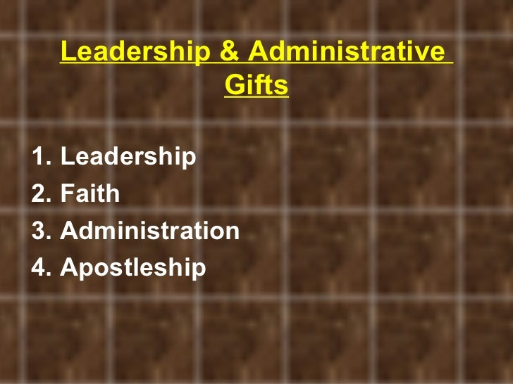 Discovering your spiritual gifts leadership negle Images