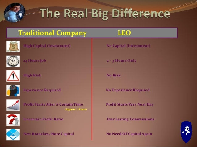 Story of LEO LEO Business Opportunity Programs & Incentives How To Get Started