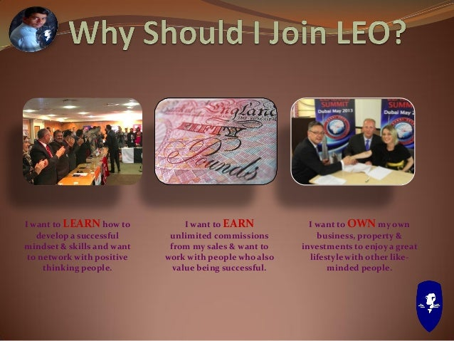 Learn Earn Own - LEO - Business Presentation