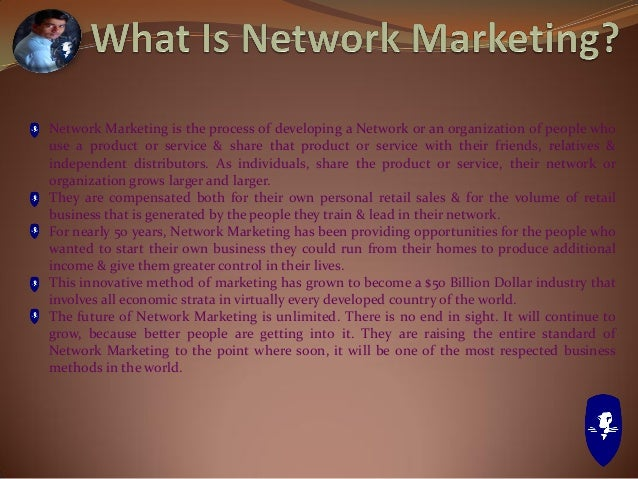 """""""Network Marketing is HUGE, and the potential income that it can yield when done correctly is GREAT. The great thing about..."""