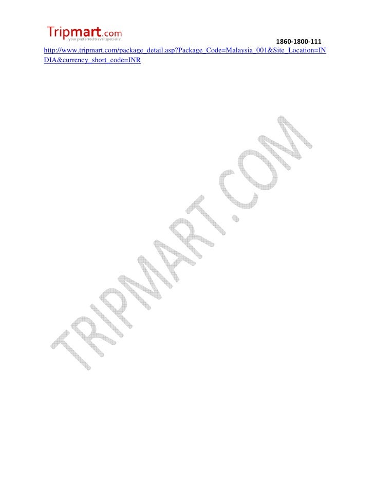 Discover Malaysia with kuala Tripmart.com Slide 3