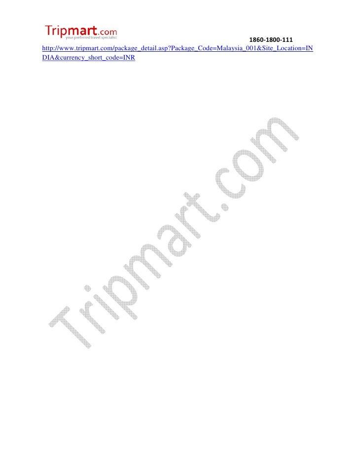 Discover malaysia with kualawww. Tripmart.com Slide 3