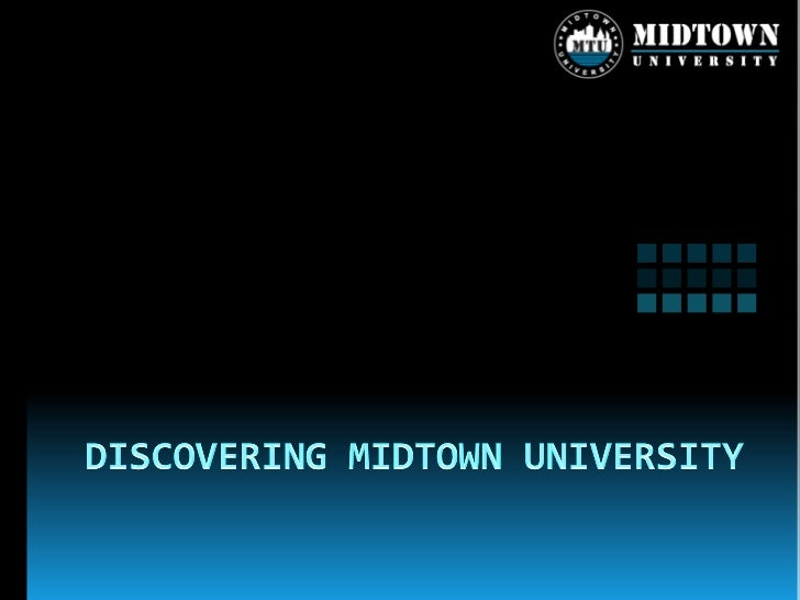  MTU is a distinctive and diverse online  learning community, which consists of  students and alumni, experts and visitin...