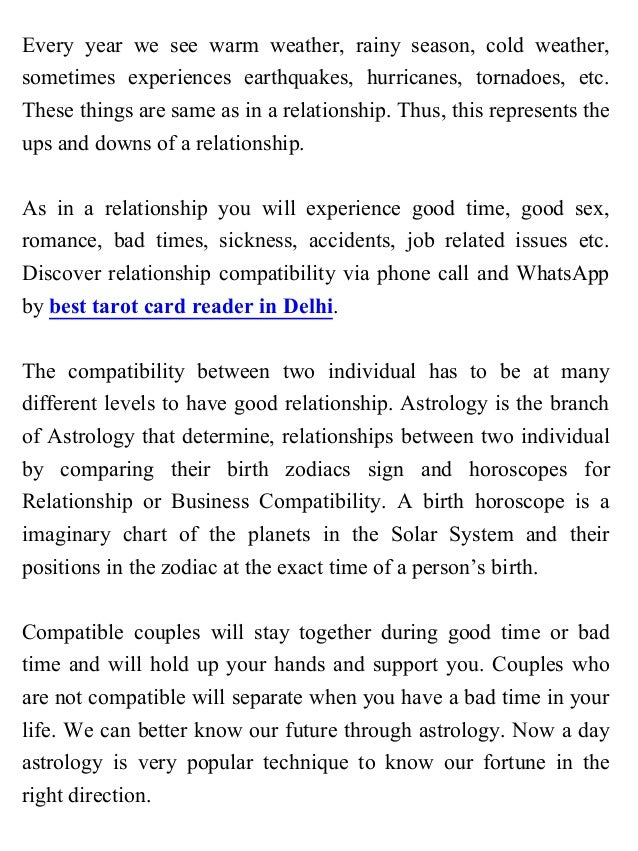 Relationship compatibility astrology birth date