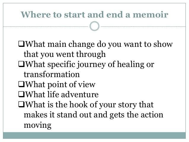 Memoir Writing: Ideas, Techniques, Strategies