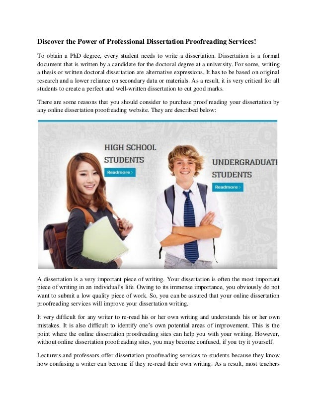 Professional English proofreading and editing services