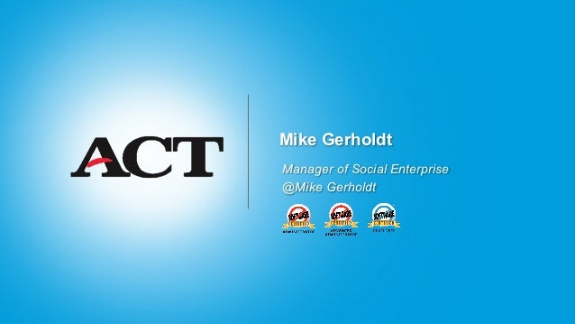 Mike GerholdtManager of Social Enterprise@Mike Gerholdt