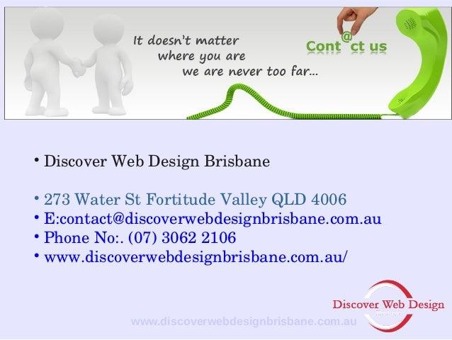 discover web design brisbane