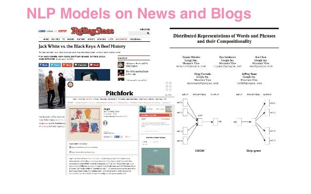 NLP Models on News and Blogs