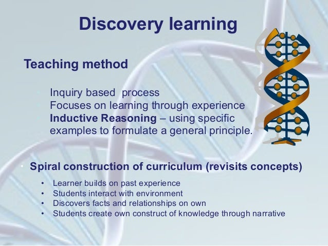 advantages of discovery learning The theory of discovery learning assumes that children learn best through experimentation and discovery of facts and relationships on their own rather than being asked to  what are some advantages of discovery learning how do i flirt in.