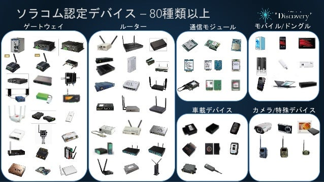 ゲートウェイ ルーター 通信モジュール モバイル/ドングル 車載デバイス カメラ/特殊デバイス ソラコム認定デバイス – 80種類以上