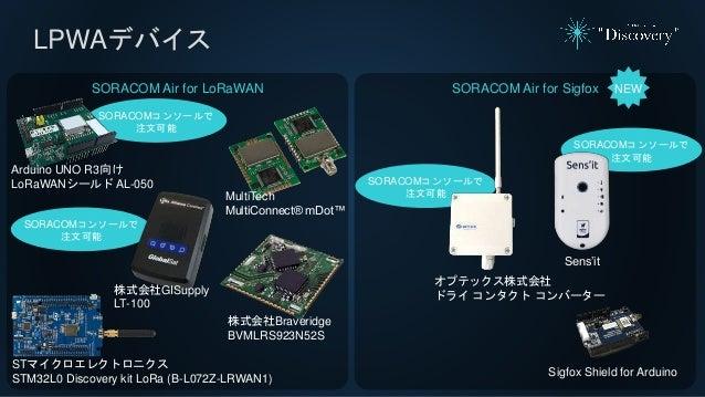 LPWAデバイス SORACOM Air for Sigfox NEW Sens'it オプテックス株式会社 ドライ コンタクト コンバーター Sigfox Shield for Arduino SORACOMコンソールで 注文可能 SORAC...