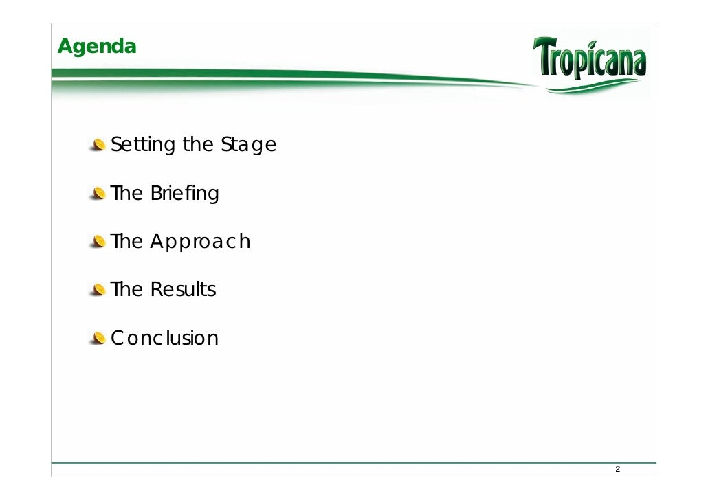 Discovery 7 Tropicana Case Slide 2