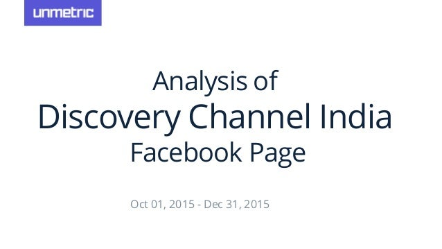 Discovery Channel India Social Media Analysis Q4 2015