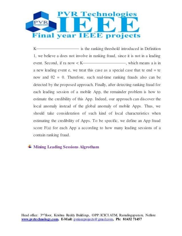 Head office: 3nd floor, Krishna Reddy Buildings, OPP: ICICI ATM, Ramalingapuram, Nellore www.pvrtechnology.com, E-Mail: pv...