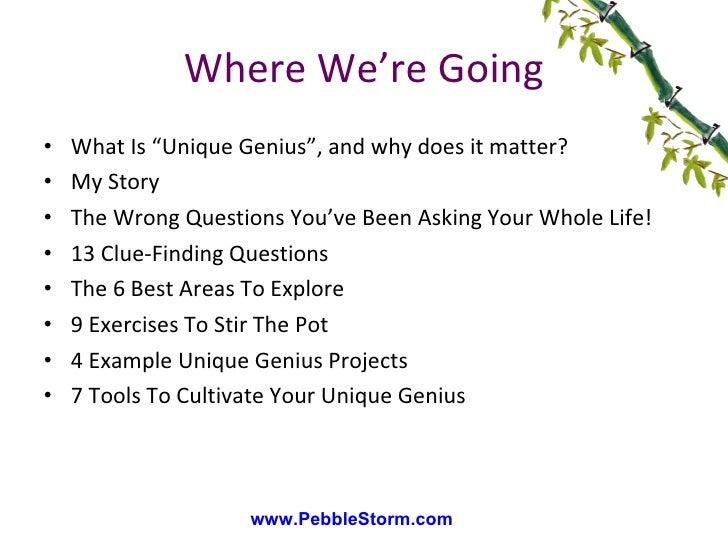 Unique Genius PlayShop Slide 3